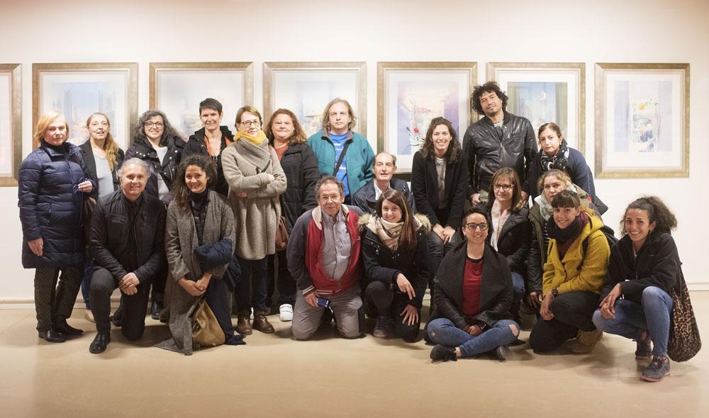 Escuela de Arte de Zaragoza. Promoción grabado 2017 - Exposición Fuendetodos
